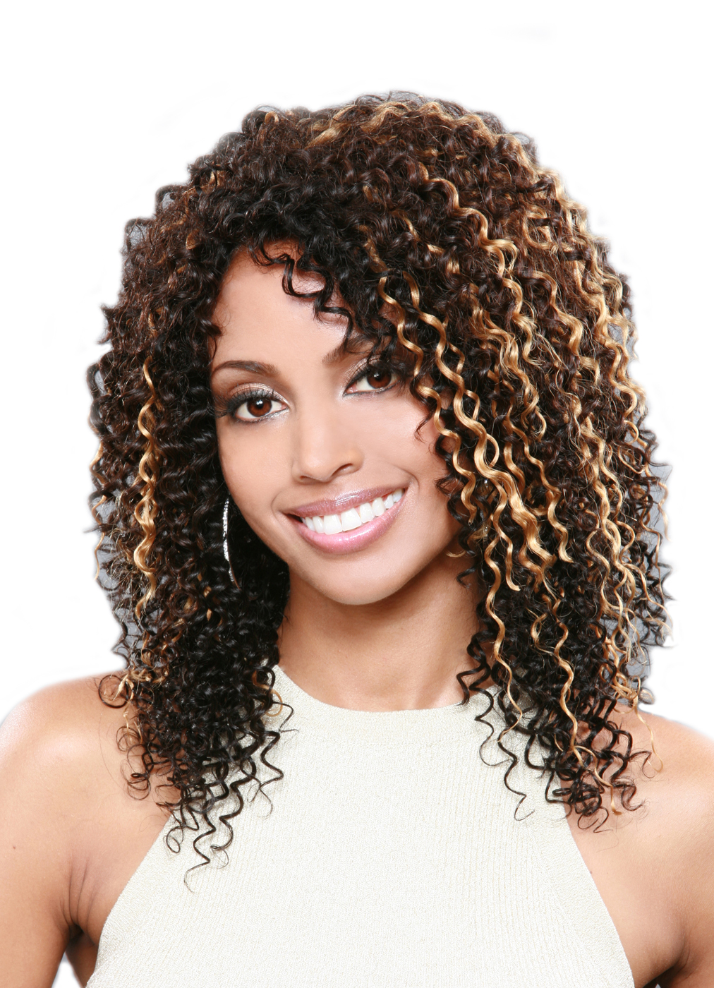 Model Model 100 Human Hair Braid Italian Perm ...