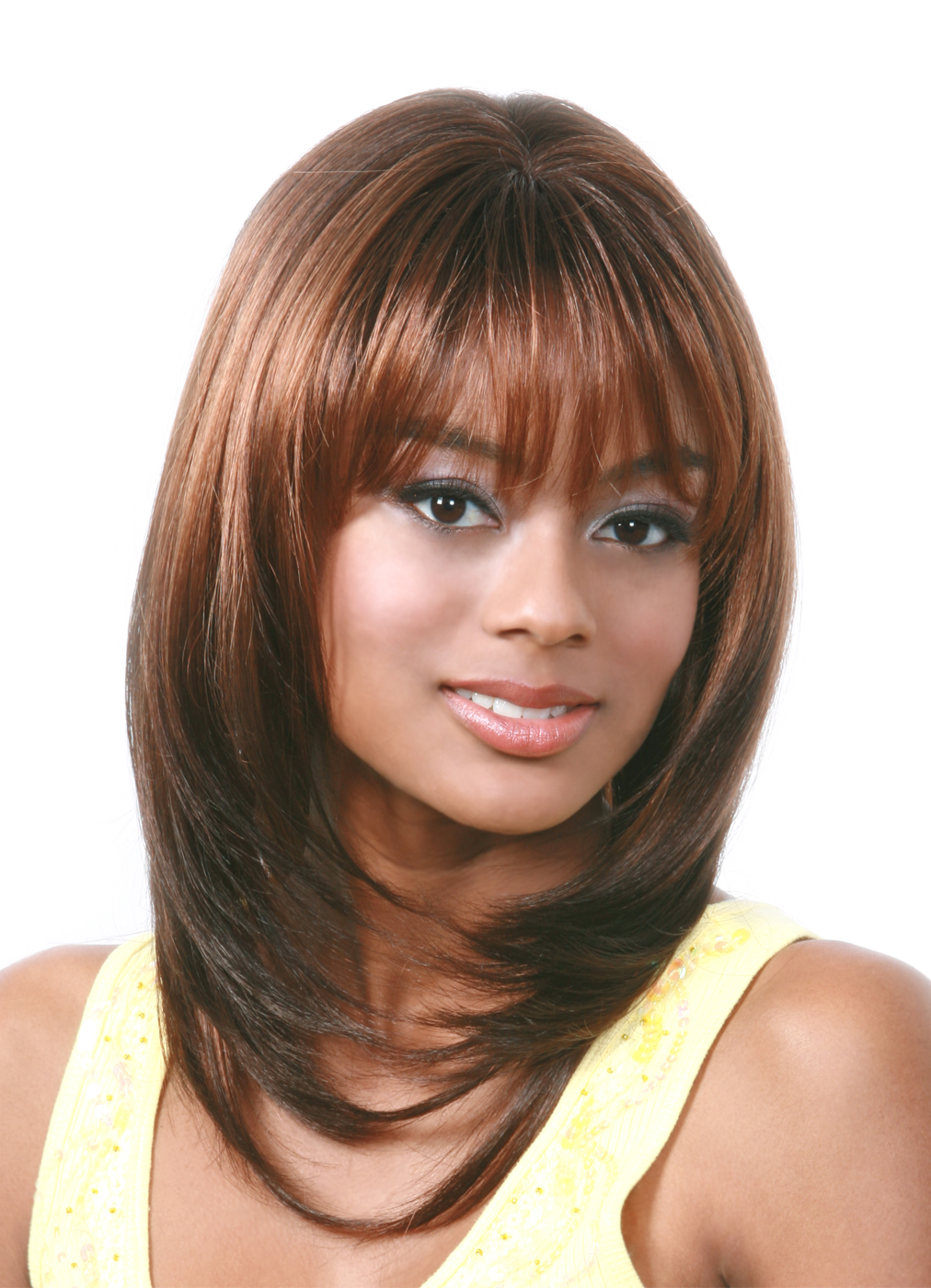 Roll Hairstyles With Bangs | 55 lovely long hair ladies